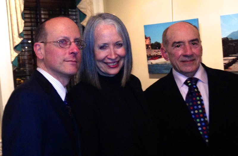 Peter Russell, Dona Vaughn, and The Honorable Richard Jamborsky