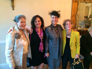 Cyd Everett, Barbara Bahni, Leilane Grimaldi Mehler, and Mary Bird