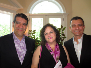 Felipe Rodrigues, Barbara Bahni and Stan Stadhagen