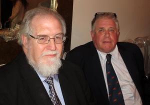 Professor Frank Conlon and Maestro John Edward Niles