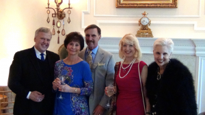 Maestro Stan Engebretson, Dr. Wanda O'Brian-Trefil, Dr. James Trefil, Dr. Joy Hagel Silverman, and Jan Duplain