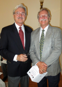 Tom Helenski and Dr. Robert Miller