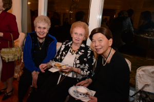 Carole Butler, Marian Farrell, and Mimi Hom
