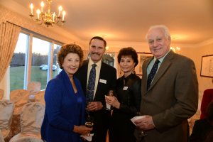 Nancy Dunton, Dr. James Trefil, Dr. Wanda O'Brien Trefil, and Timothy Thomas