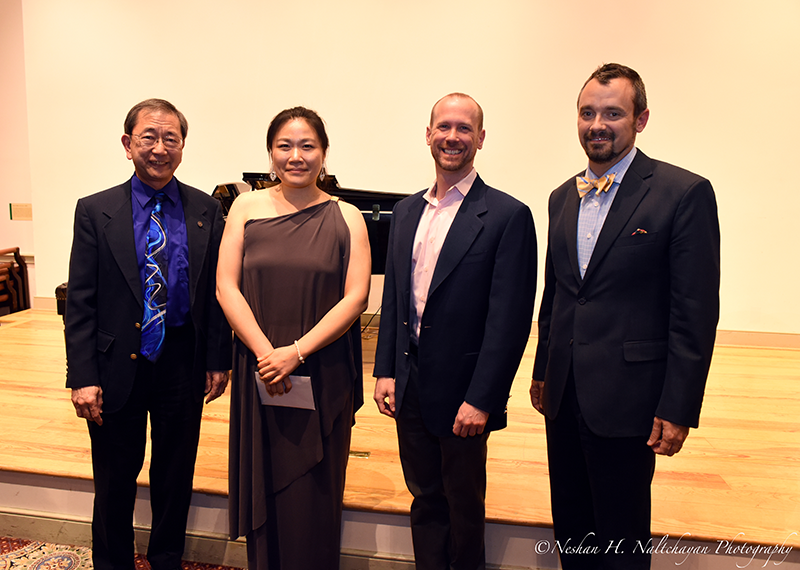 Sam Jew Kim - Mezzo-soprano with Judges Special Award 2016