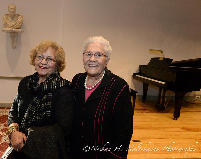 Mahavah Ardalan and Paula Verdun
