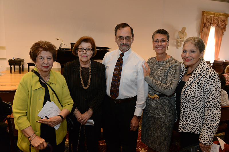 PARTNERS' Founding Members: Victoria Tresansky, Dr. Elaine Walter, Dr. Robert Misbin, Leilane Grimaldi Mehler, and Cyd Miller Everett